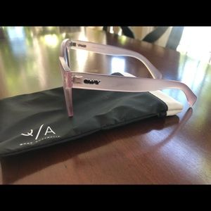 Quay Australia Pink Cat Eye Sunglasses